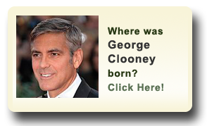Where was George Clooney