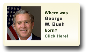 Where was George W. Bush