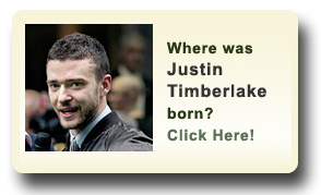 Where was Justin Timberlake