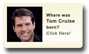 Where was Tom Cruise