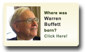 Where was Warren Buffett